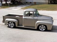 1956 F-100. #design #car #cars #truck #trucks #50s #1950s #Ford #F100 #vintage