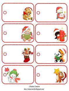 il mio angolo creativo: Etichette per Natale 6