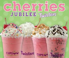Our Twisters bring all the boys to the yard. #CherriesJubilee