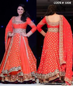 Parineeti Chopra | Now you can choose your wedding lehenga according to your body You need not shy away from wearing that perfect lehenga with these expert tips! | http://www.jivaana.com/editorial/Now+you+can+choose+your+wedding+lehenga+according+to+your+body?eid=563c990eb76f9f665c8b456e | Designer | Lehenga | Tips | Dress according to your body type.