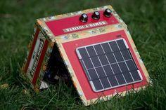 The DIY Solar Powered Cigar Box Amp Kit