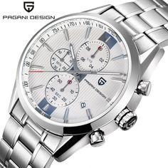 US $58.80 - 2016 Watches Men Luxury Brand Sport Wristwatch Dive 30m Military Multifunction Quartz watch PAGANI DESIGN Clock Men reloj hombre