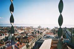 Ausblick vom Elevador de Santa Justa in #Lissabon / View from Elevador de Santa Justa in #Lisbon #Portugal