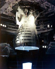 Space Shuttle engine test