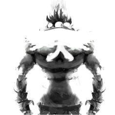 Akuma or Gouki?  #art #artist #streetfighter #capcom #pinterest #twitter #blogger #tbt #tumblr #coffee #whiskey by joverine