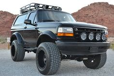 Gallery For > 1996 Ford Bronco Xlt Interior