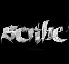 John Stevens Brush Calligraphy