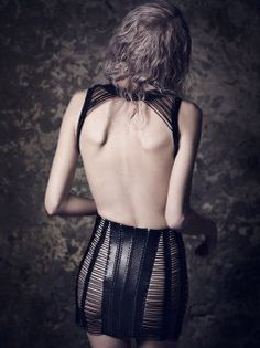 YVY Black Leather Strap Shoulderpiece this site inspiration notjustalabel