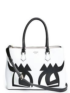 2d744a94ffab Guess Pin Up Pop Shopper Tote