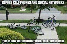 Before cellphones!