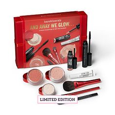 And Away We Glow Collection - Bare Escentuals..THE BEST makeup collection I've ever bought. Love it.