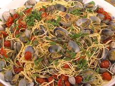 The Scottos' Italian Christmas Eve dinner with spaghetti and clams (and more!)