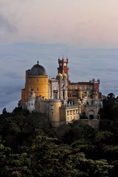 Located in the Sintra hills, the Park and Palace of Pena are the fruit of King Ferdinand II's creative genius and the greatest expression of 19th-century romanticism in Portugal,