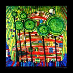 Hundertwasser...love it