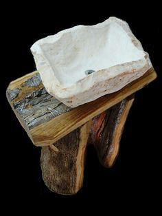 lavabo- roccia & ulivo