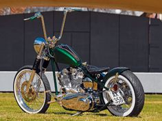 1972 Harley Davidson Shovel-head. Not to be confused with the 2012 Seventy-two.