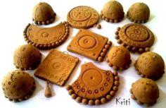 Terracotta Clay Jewelry designs