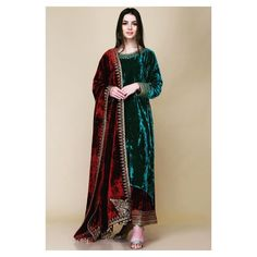 The Velvet Effect. Vibrant and new collection by for winters, now available at South Extension store. ✨ Shop Now. Pakistani Formal Dresses, Pakistani Dress Design, Pakistani Outfits, Indian Dresses, Designer Party Wear Dresses, Kurti Designs Party Wear, Indian Designer Outfits, Velvet Suit Design, Velvet Dress Designs
