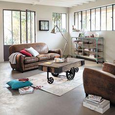 Muebles y Decoración de estilo industrial, loft y fábrica   Maisons du Monde