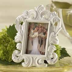 Kate Aspen Baroque Place Card Holder/Photo Frame (Set of 12)