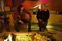 Dave Grohl + Pat Smear by Andrew Stuart