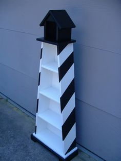 Lighthouse shelves by TheCarolinaCottage on Etsy