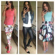 #iWear | iClothing Floral, Skirts, Fashion, Florals, Moda, La Mode, Flowers, Skirt, Fasion