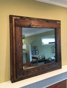 Farmhouse Mantelpiece Wall Mirror