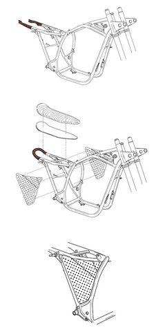 Portfolio of Nuno Capêlo (Capêlos Garage) @portfoliobox Cafe Racer Motorcycle, Moto Bike, Motorcycle Design, Bike Design, Cafe Bike, Cafe Racer Bikes, Cafe Racer Build, Piece Cafe Racer, Tw Yamaha