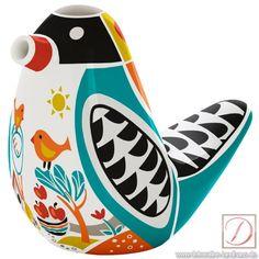 Zuckerstreuer RITZENHOFF Design 2013, Shalev 10cm GB - So süß wie praktisch. Der niedliche Zuckervogel aus Porzellan versüßt ruck, zuck jede Küche.