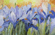 Image from http://images.fineartamerica.com/images-medium-large-5/blue-irises-palette-knife-painting-chris-hobel.jpg.