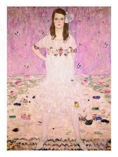 Girl in White | Gustav Klimt