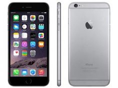 "iPhone 6 Plus Apple 16GB Cinza Espacial 4G - Tela 5.5"" Câm. 8MP iOS 8 Proc. Chip A8"