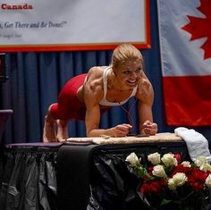 woman longest plank world record - Womens Health Magazine  IMAGES, GIF, ANIMATED GIF, WALLPAPER, STICKER FOR WHATSAPP & FACEBOOK
