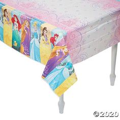 Disney Princess Dream Tablecloth - Disney Princess Dream Tablecloth     #birthday #decoration #love #decor #party #interiordesign #happybirthday #homedecor #happy #design #birthdaygirl #interior #family #art #photography #home #hiphop #architecture #instagood #interiors #food #designer #music #fun #homedesign #cake #furniture #travel #interiordesigner #friends Birthday Party For Teens, Tea Party Birthday, Teen Birthday, Princess Birthday, Birthday Party Decorations, Princess Games For Girls, Disney Princess Games, Dream Party, Birthday Design