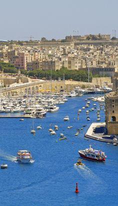 Valletta Harbor, Malta