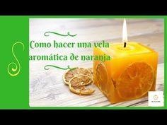 Hoy, domingo de Resurrección, nos decantamos por esta preciosa vela aromática de naranja, decorada con rodajas de naranja. Las rodajas de naranjas las podemos cortar finitas y deshidratar al sol, al horno o si tenemos un deshidratador pues es otra estupenda opción. Pero al natural, al sol, a mi que quedan genial.