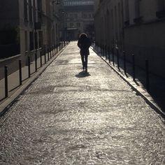 #paris #homme #man #solitude #walk #pensive #photography #sun