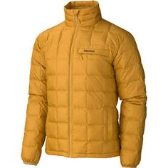 For around town & while being active. Ajax Jacket (Men's) #Marmot filled with 700 water resitant down at RockCreek.com