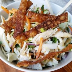 Chrissy Teigen's Chinese Chicken Salad – Rumbly in my Tumbly salad salad salad recipes grillen rezepte zum grillen Asian Recipes, Healthy Recipes, Ethnic Recipes, Chrissy Teigen Recipes, Clean Eating, Healthy Eating, Chinese Chicken, Chinese Meals, Chinese Food