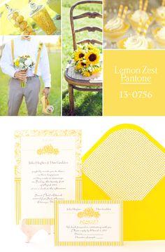 Invitación de boda de azulsahara: Lemon Zest