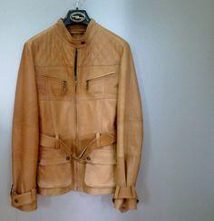 Safari Style Leather Jacket for Women #leather #spring2014 #jacket
