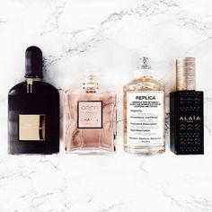 parfums. tom ford. coco chanel. replica. alaia.