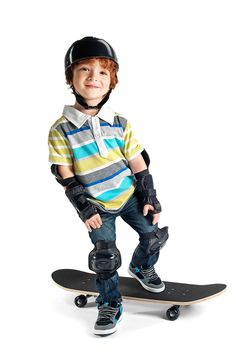 Skate, casco y set de protección