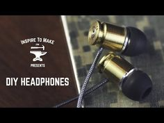 Bullet casing earphones!!!!!!!!