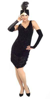 812e5c2937  roaringtwenties  ladiescostume Love the hat 1920s Flapper Costume