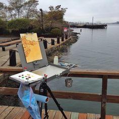 An art blog by Duncan Knarr, a plein air artist painting landscapes in oil.