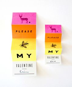 (deer), please (bee) my valentine!