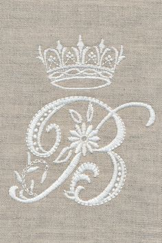 Personalize any project with these exquisite monograms. Each detailed letter is reminiscent of antique white work hand embroidery. Use the stunning whitework flowers by themselves or as accents to the monograms. Embroidery Monogram, Hand Embroidery Stitches, Embroidery Fonts, Crewel Embroidery, Embroidery Techniques, Cross Stitch Embroidery, Machine Embroidery Designs, Embroidery Patterns, Creative Embroidery