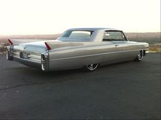 63 Coupe Deville. One of the forgotten years. But so cool. Understated thug-ness.